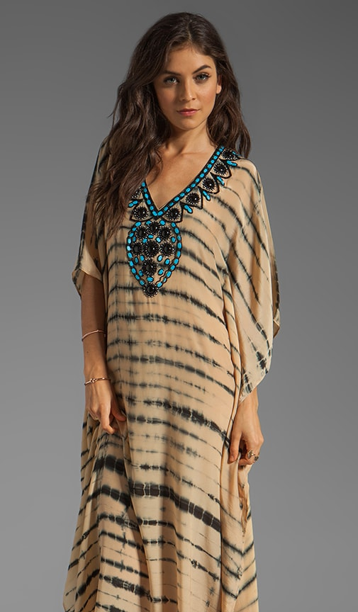 Nassau Long Caftan Dress
