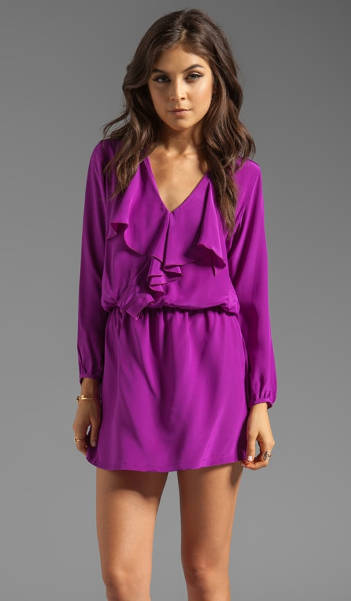 Silk Solids Josephine Mini Dress