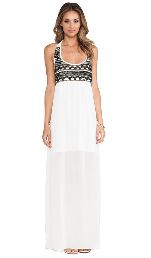 Azaria Beaded Maxi Dress