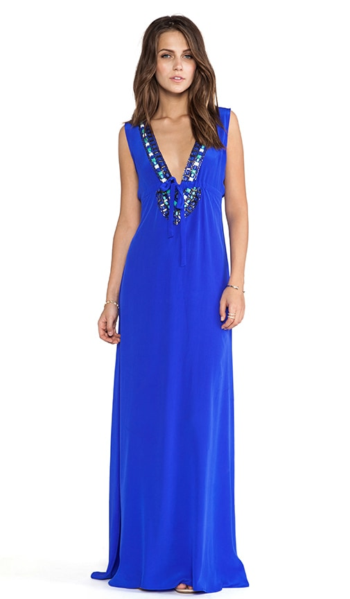 Skyler Beaded Maxi Dress