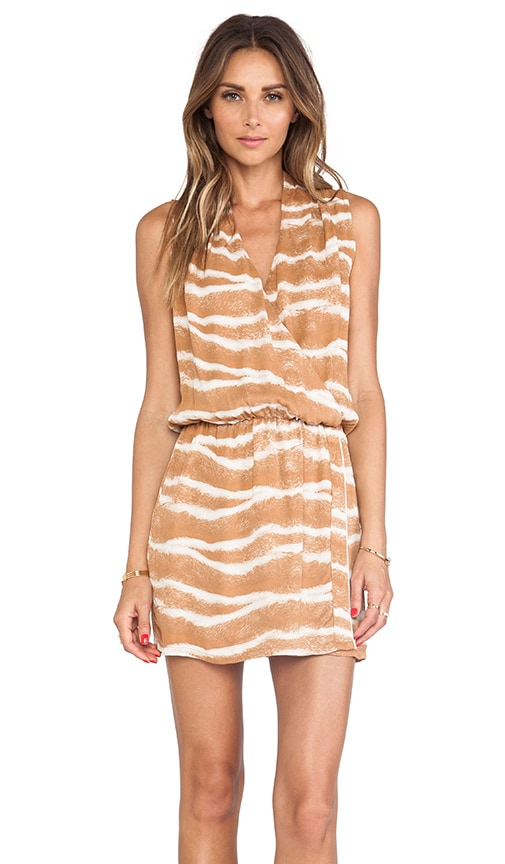 Odella Printed Mini Dress