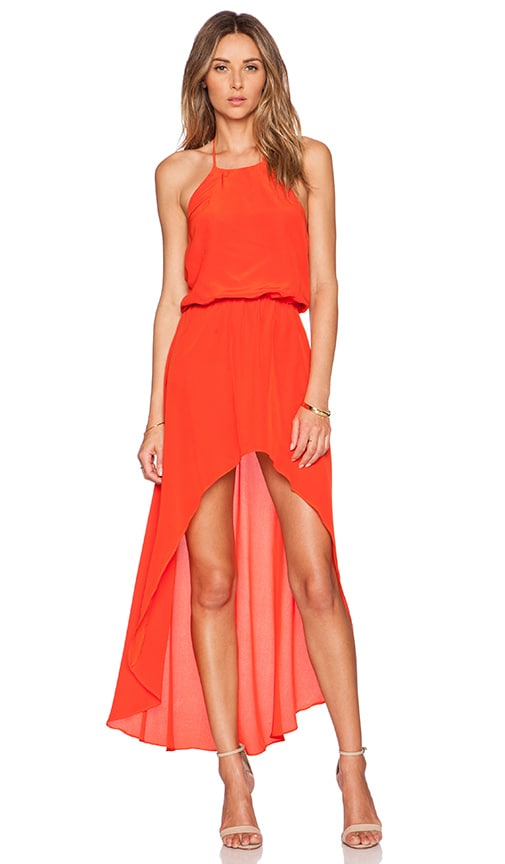 Karina Grimaldi Makeila Maxi Dress in Orange