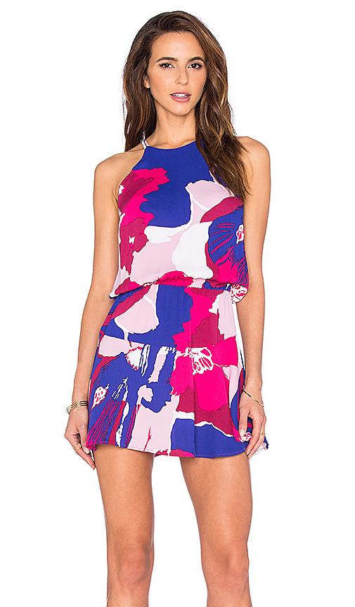 Karina Grimaldi Romina Mini Dress in Pink