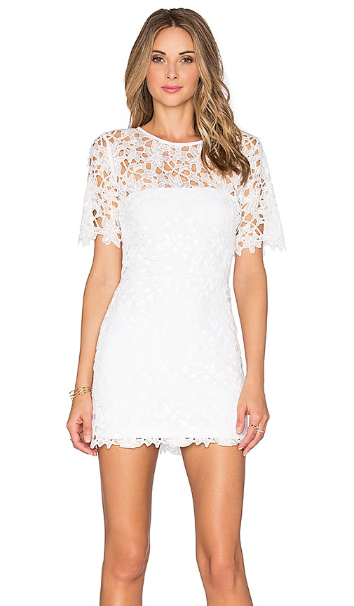 Rudas Lace Mini Dress