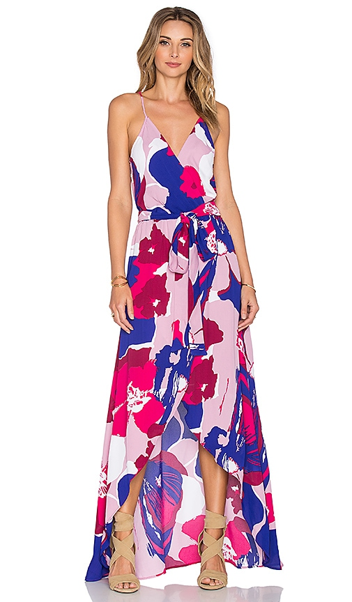 Karina Grimaldi Egypt Maxi Dress in Pink