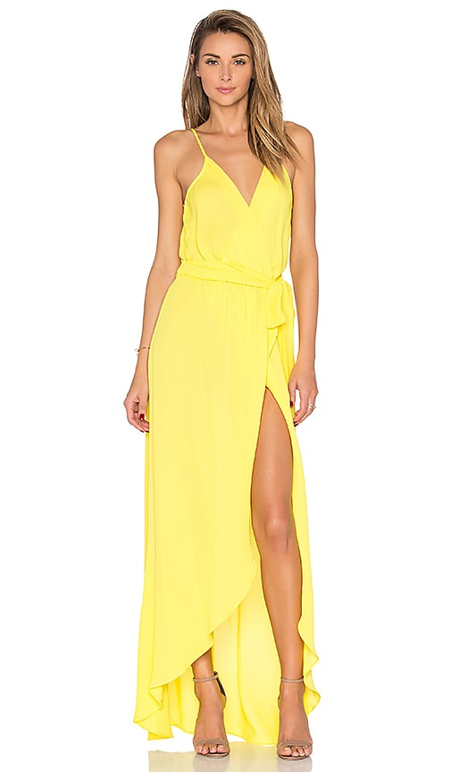 Karina Grimaldi Egypt Maxi Dress in Yellow