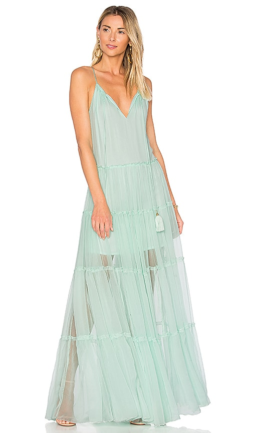 Karina Grimaldi Chloe Maxi Dress in Mint
