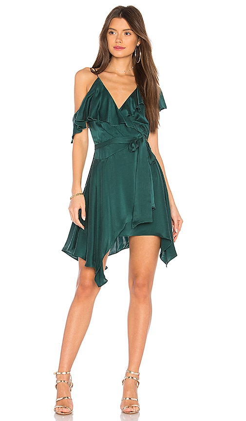 Karina Grimaldi Mariana Dress in Green