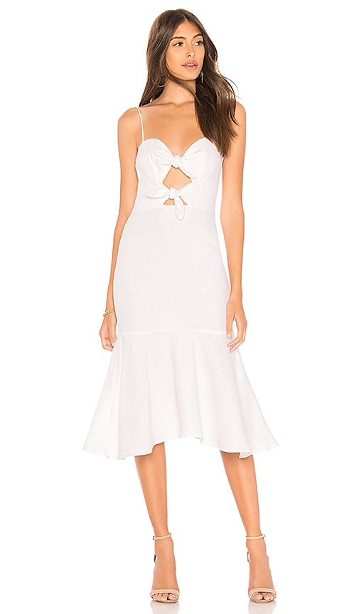 Karina Grimaldi Nelia Dress in White