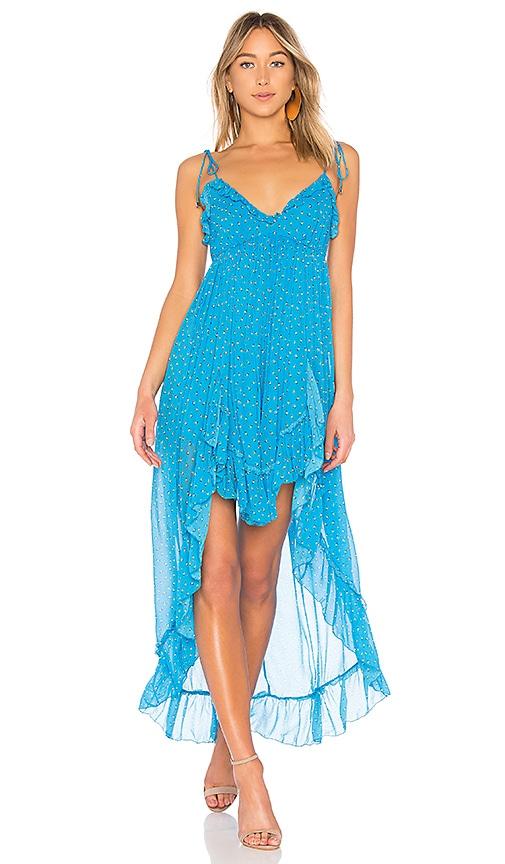 12a7be2aa0 Karina Grimaldi Saralyn Maxi Dress in Multi Floral | REVOLVE