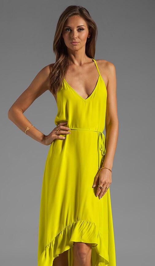 Romantic Solid Maxi Dress