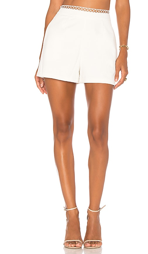 Karina Grimaldi Lia Short in White
