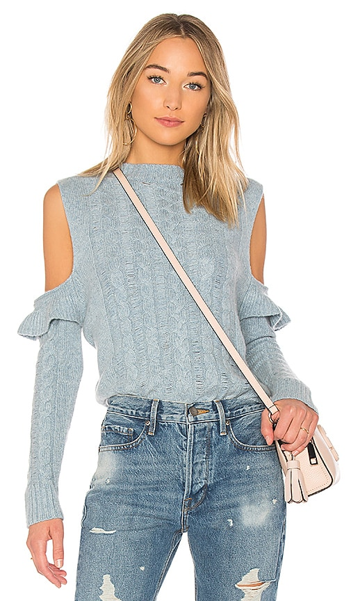 56e4b10ee27 Karina Grimaldi Jerry Sweater In Blue