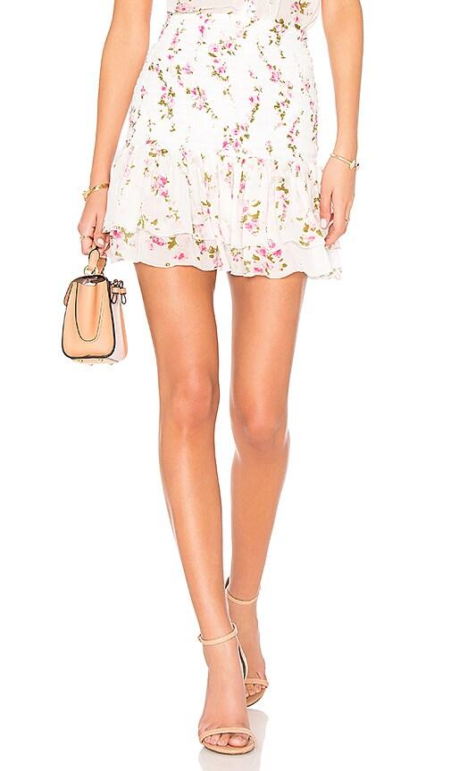 Karina Grimaldi Elani Mini Skirt in White