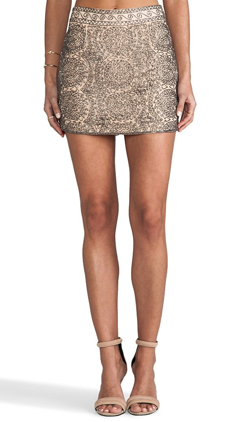 Venus Beaded Mini Skirt