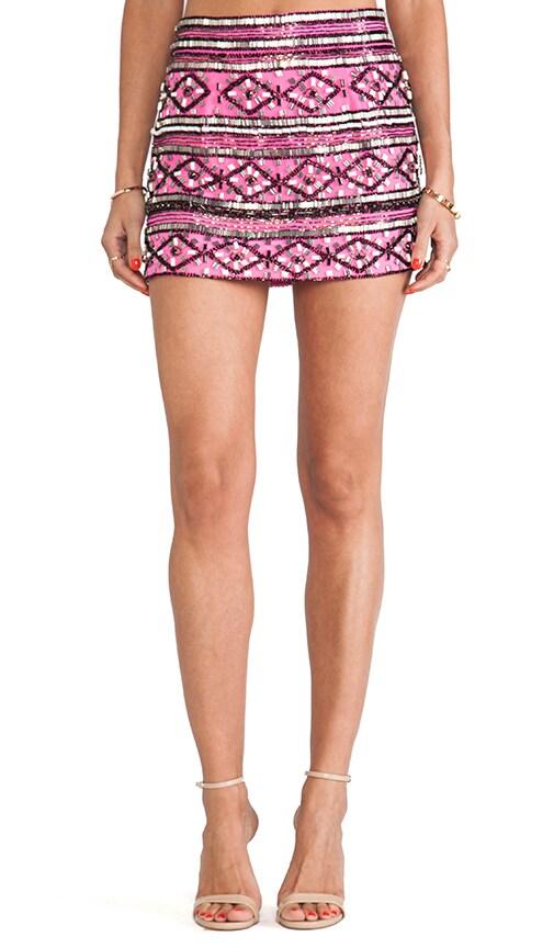 Drew Beaded Mini Skirt