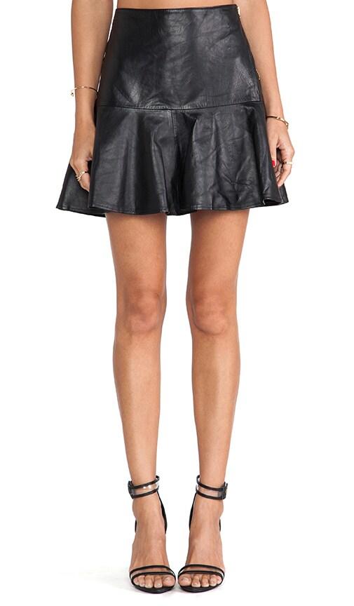 Paloma Leather Skirt