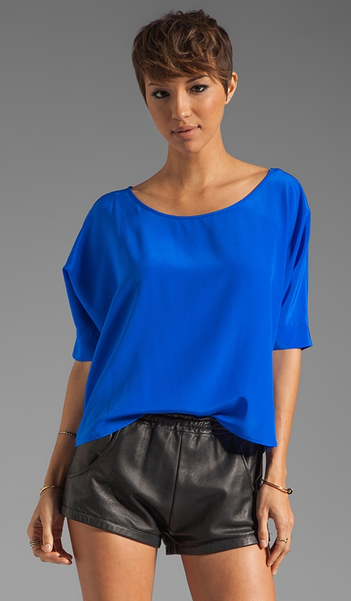 St. Lucia Solid Zipper Top