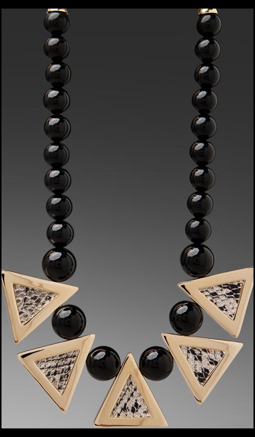 Python Triangle Necklace