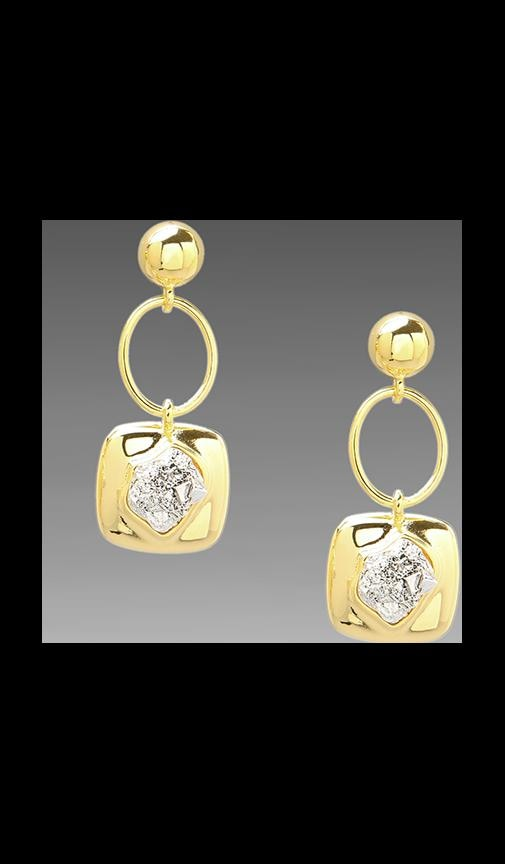 Oval Drop Earring