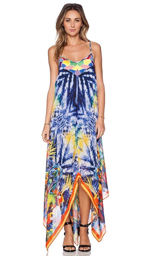 KAS New York Doto Maxi Dress in Multi
