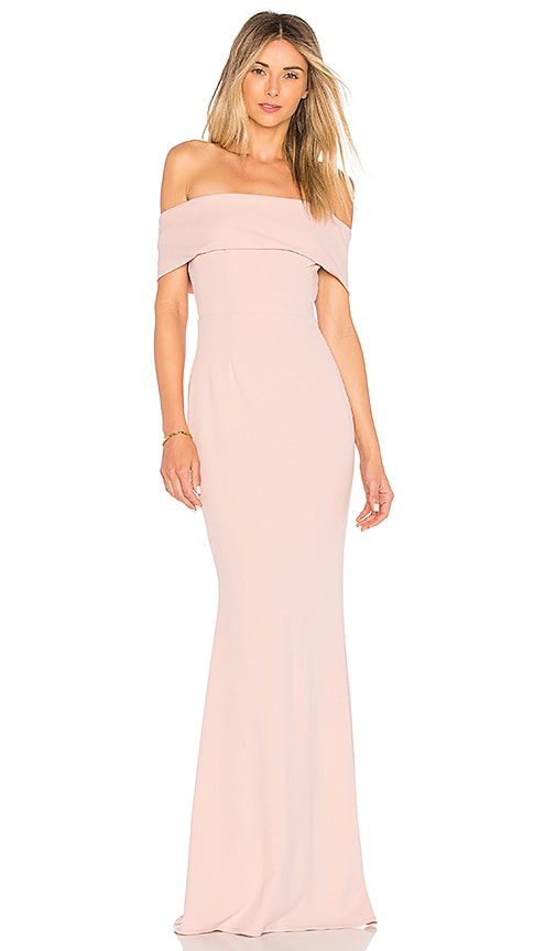 682dd50d840 Katie May Legacy Gown in Dusty Rose