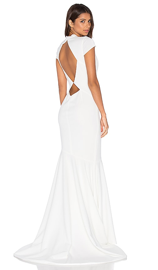 Katie May NOEL and JEAN by Katie May Josephine Gown in Ivory | REVOLVE