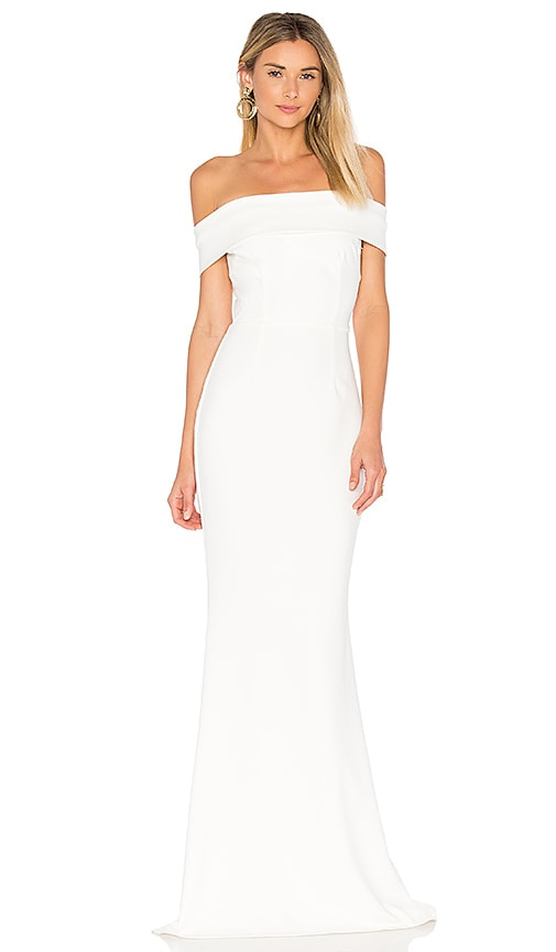 Katie May Legacy Gown in Ivory | REVOLVE