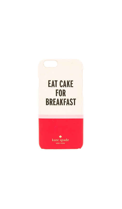 Eat Cake For Breakfast iPhone 6 Case