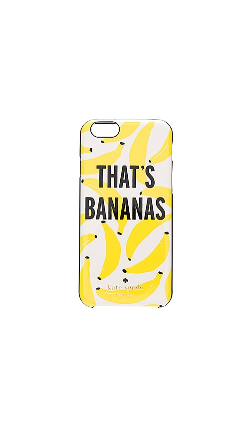 kate spade new york That's Bananas iPhone 6 Case in Yellow