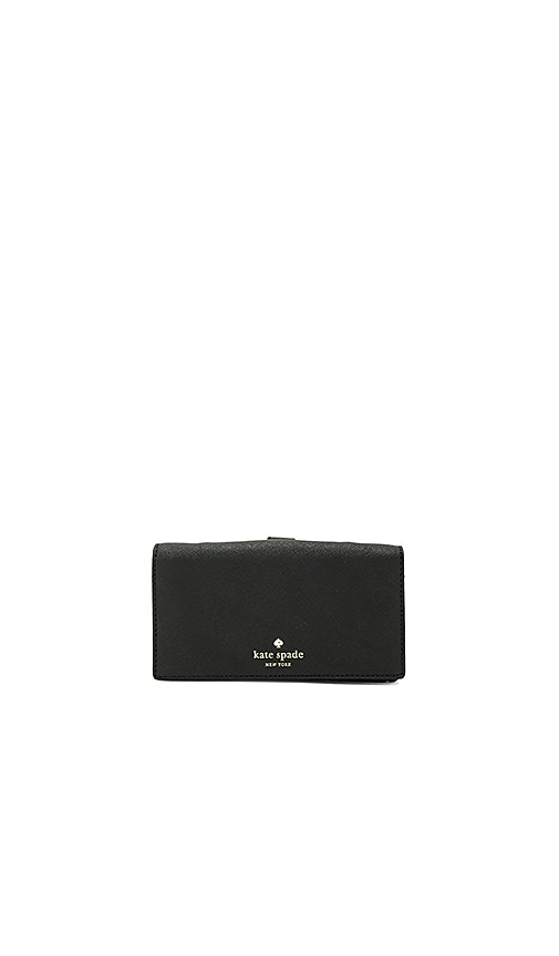 kate spade new york Crossbody Phone Case in Black