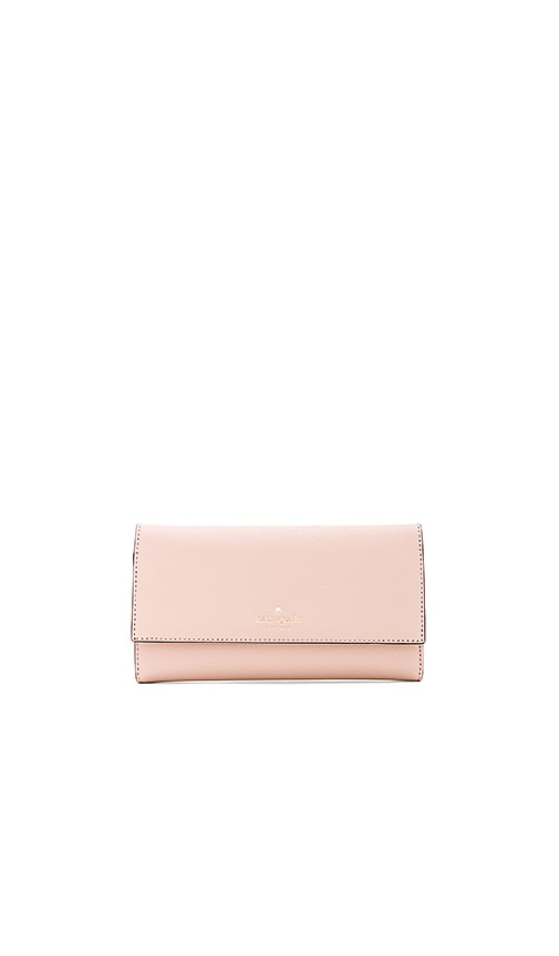 kate spade new york Leather iPhone 7 Wallet in Blush