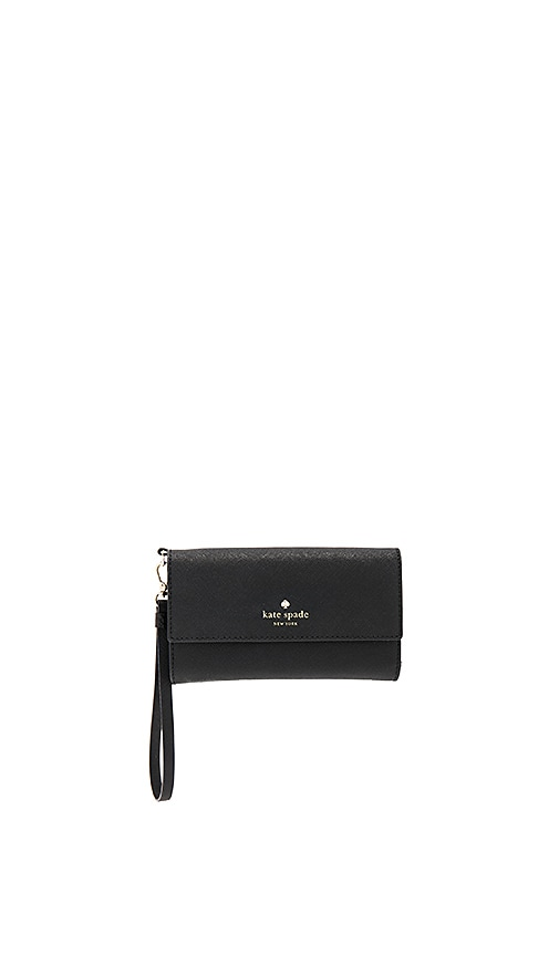 kate spade new york iPhone 7 Wristlet in Black