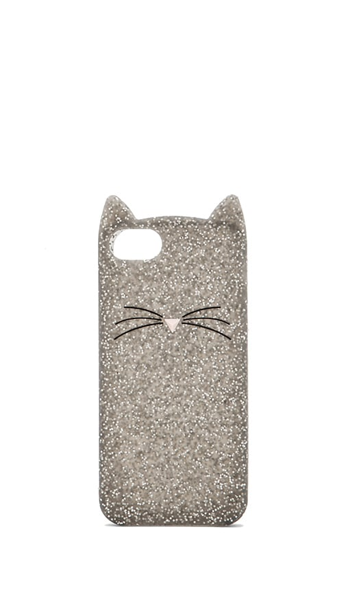 Glitter Cat iPhone 5 Case