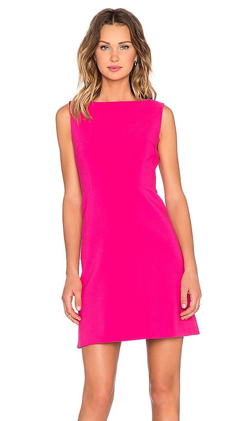 Stretch Crepe A Line Dress