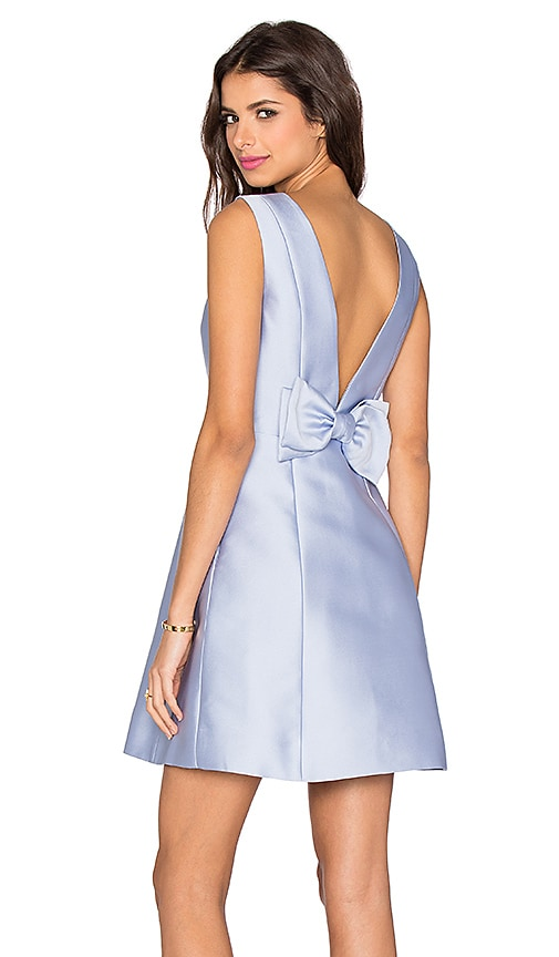 Open Back Bow Dress