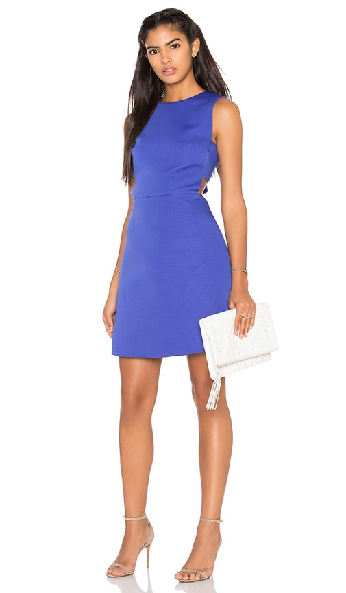kate spade new york Cutout A Line Dress in Blue