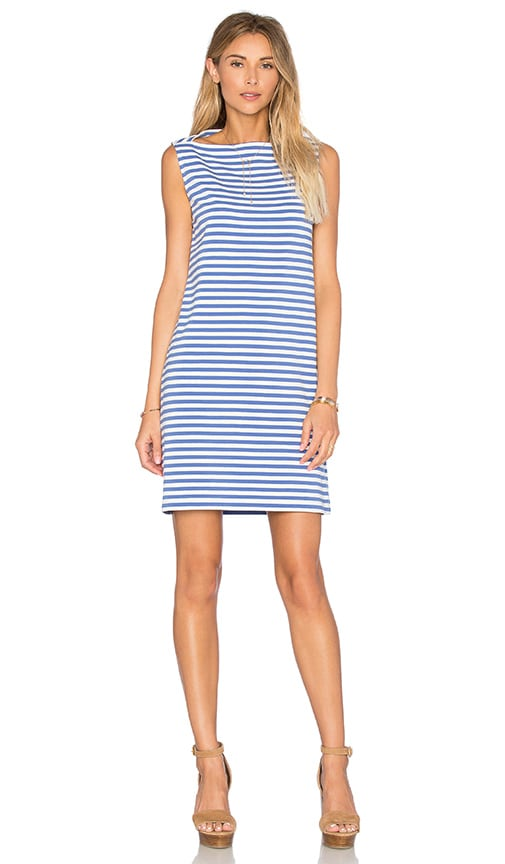 kate spade new york Stripe Everyday Shift Dress in Blue