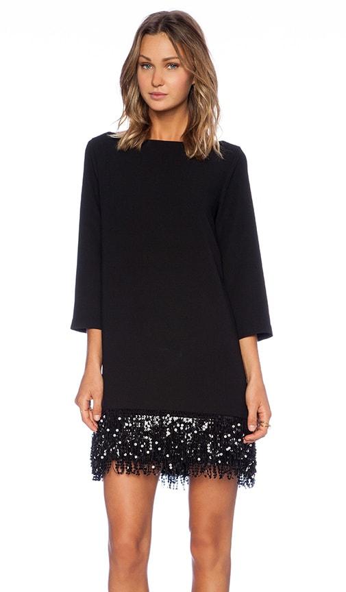 ee6628bdf95 kate spade new york Sequin Fringe Mini Dress in Black | REVOLVE