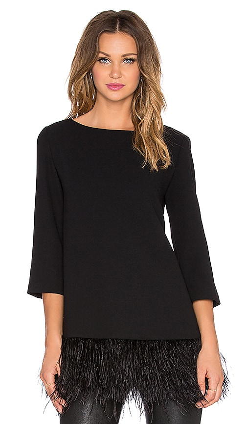kate spade new york Feather Top in Black
