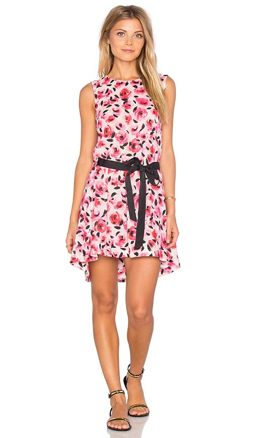 kate spade new york Bay of Roses Tank Dress in Pink