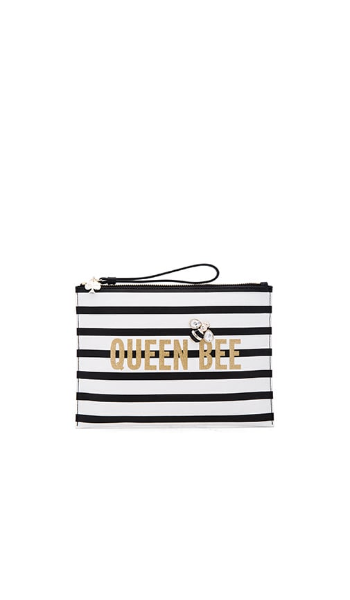 kate spade new york Queen Bee Bella Clutch in Multi