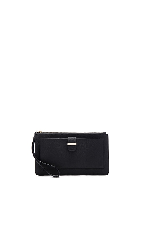 kate spade new york Karolina Wristlet in Black