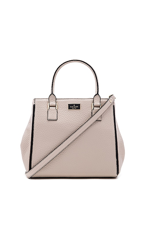 kate spade new york Maddie Satchel in Light Gray