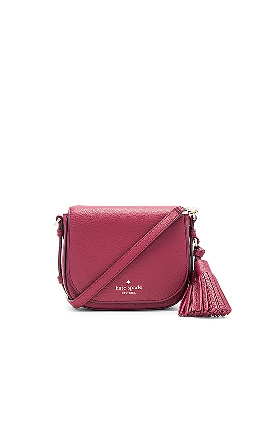 kate spade new york Small Penelope Crossbody Bag in Burgundy