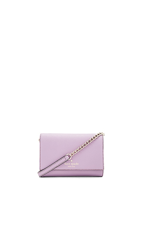 kate spade new york Cami Crossbody in Lavender