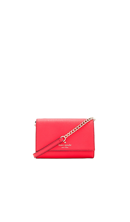 kate spade new york Cami Crossbody in Red