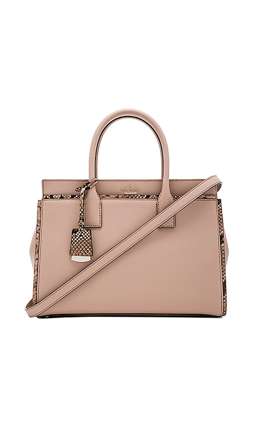 kate spade new york Candace Satchel Bag in Blush