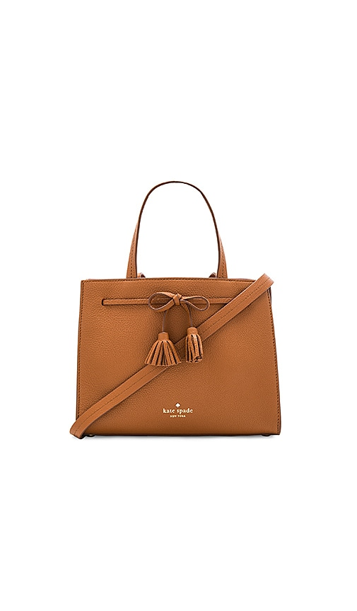 kate spade new york Small Isobel Tote in Cognac