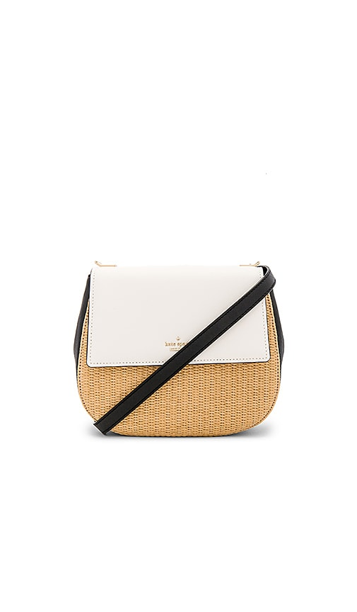 kate spade new york Byrdie Crossbody in Black & White